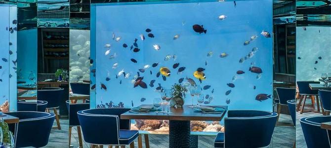 Малдивите –  подводни ресторанти